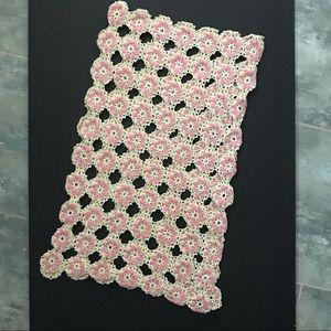 Vintage Crocheted Table Runner